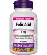 Webber Naturals Folic Acid Tablets
