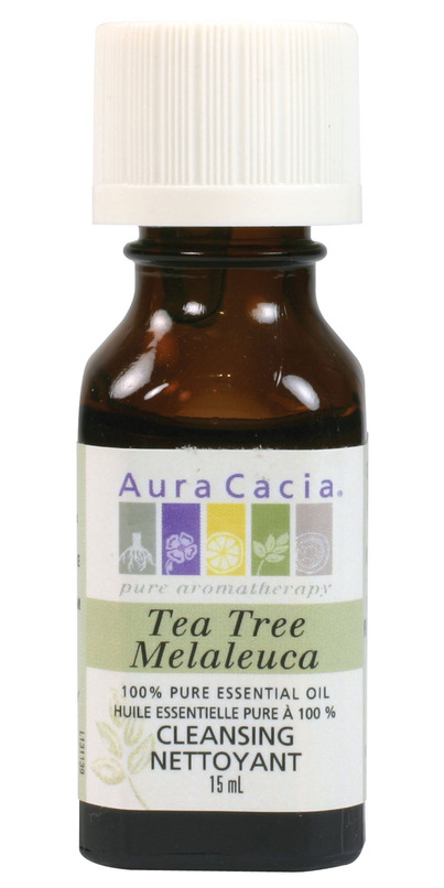 buy aura cacia tea tree essential oil at free shipping 35 in canada. Black Bedroom Furniture Sets. Home Design Ideas