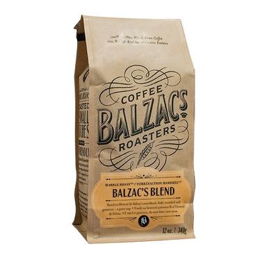 Balzac Coffee Freshly Roasted Balzac\'s Blend Whole Bean Coffee