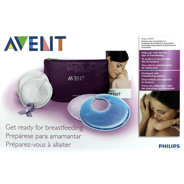 Philips AVENT Breastcare Essentials Kit
