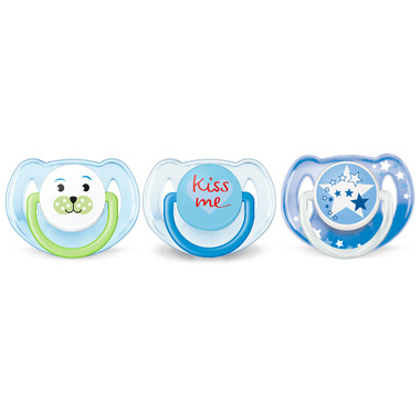 Philips AVENT Pacifier Value Pack Blue