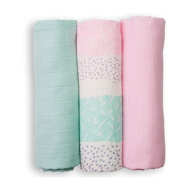 Lulujo Mini Muslin Bamboo Cloths