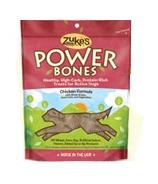 Zuke's Power Bones Chicken Formula