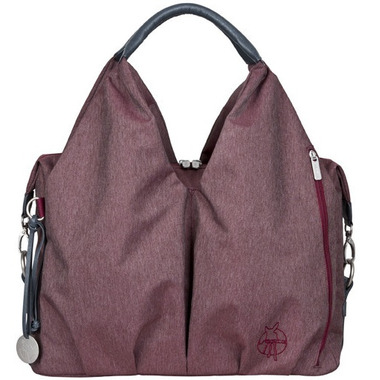 buy lassig green label neckline diaper bag burgundy at free shipping 35 in canada. Black Bedroom Furniture Sets. Home Design Ideas