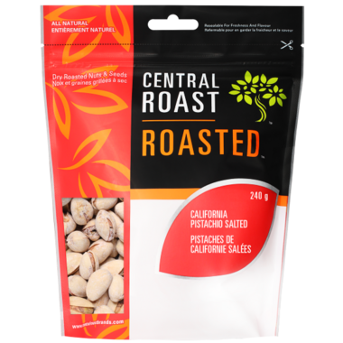 Central Roast Roasted Salted California Pistachios