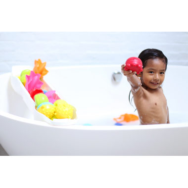 Ubbi Extendable Bath Toy Organizer