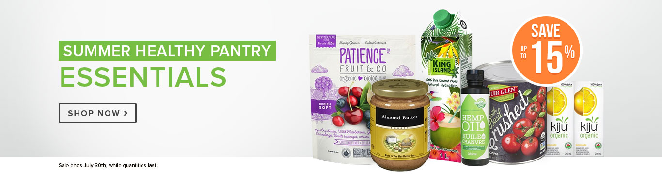 Save on Healthy Pantry Essentials