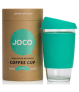 JOCO Glass Reusable Coffee Cup in Mint