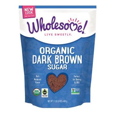 Wholesome Sweeteners Organic Fair-Trade Dark Brown Sugar