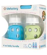 Lifefactory 4 oz Baby Bundle