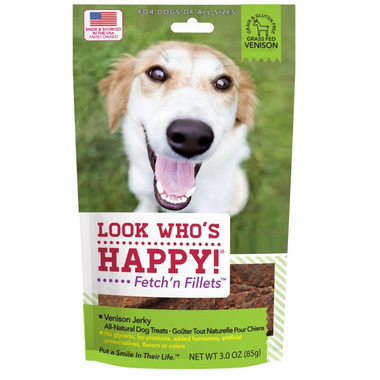Look Who\'s Happy Fetch\'n Fillets Venison Jerky