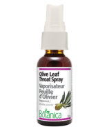 Botanica Olive Leaf Throat Spray Peppermint