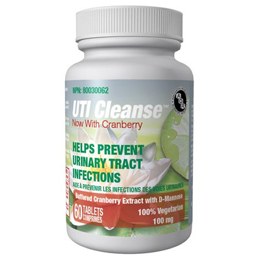 AOR UTI Cleanse Now with Cranberry Tablets