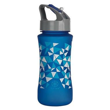 Gaiam Kids Water Bottle Blue Geo
