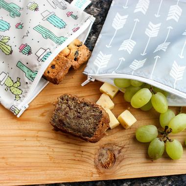 Bumkins Reusable Snack Bag Large Arrow