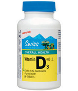 Swiss Natural Sources Vitamin D3 Tablets