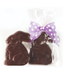 Dufflet Natural Dark Chocolate Easter Bunny