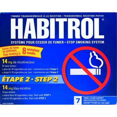 Habitrol Stop Smoking System Step 2
