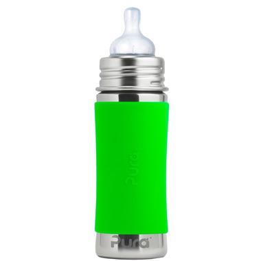 Pura Kiki Infant Bottle With Green Sleeve