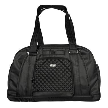 Lug Propeller Overnight / Gym Bag Midnight Black