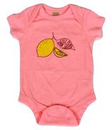 Little Orchard Co. Lemon Squeezy Onesie Flamingo
