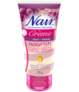 Nair Nourish Creme for Face with Grape Seed Oil