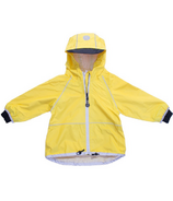 Calikids Nylon Waterproof Shell Jacket Yellow