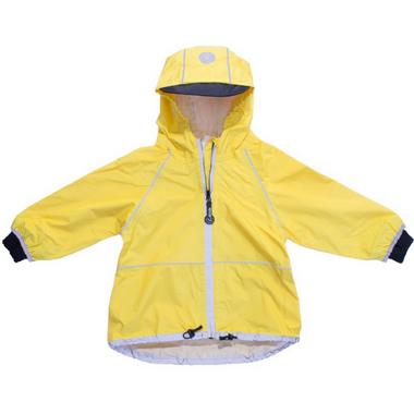 Calikids Nylon Waterproof Shell Jacket Yellow