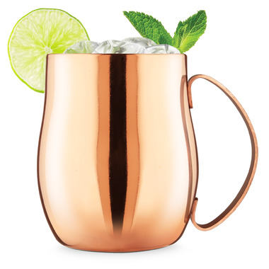 Final Touch Double Wall Moscow Mule in Copper