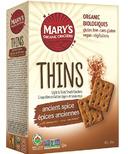 Mary's Organic Ancient Spice Cracker Thin's