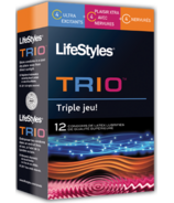 Lifestyles Trio Condoms
