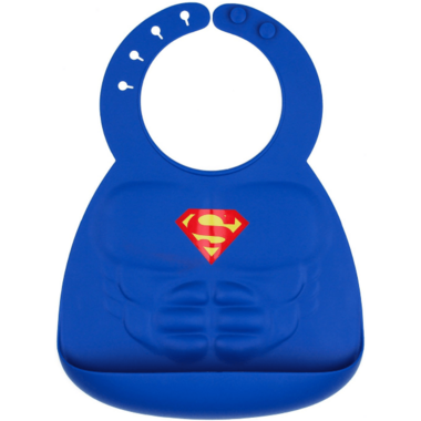 Bumkins DC Comics Superman Muscle Bib