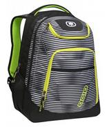 OGIO Tribune Laptop Backpack in Blinders/Green