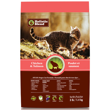 Holistic Blend Cat Food Chicken & Salmon Formula