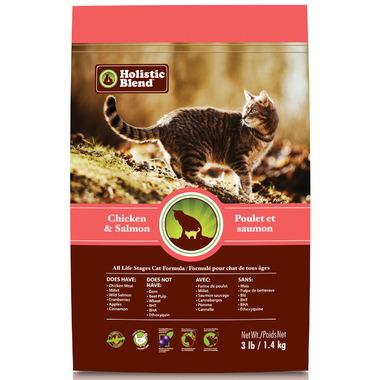 Holistic Blend Cat Food Chicken & Salmon Formula
