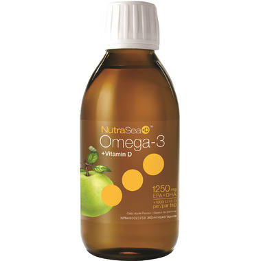 NutraSea +D Omega-3 Liquid with Vitamin D