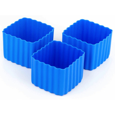 Little Lunch Box Co. Bento Cups Square Blue