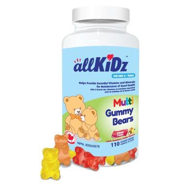 allKiDz Multivitamin Gummy Bears