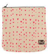 Fluf Hearts Zip Pouch