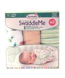 Summer Infant SwaddleMe Cotton Knit 3 Pack