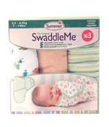 Summer Infant SwaddleMe Cotton Knit 3 Pack