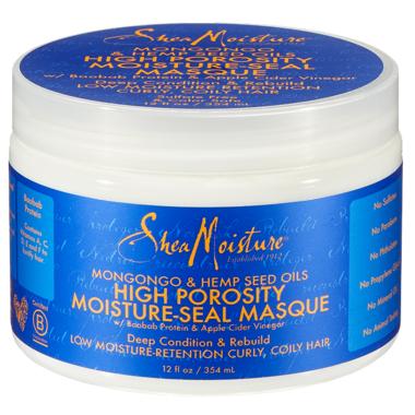 Shea Moisture Mongongo & Hemp Seed Oils High Porosity Moisture-Seal Masque