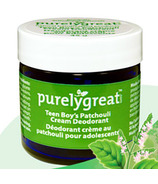 Purelygreat Cream Deodorant for Teen Boys