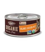 Castor & Pollux Organix Grain Free Organic Chicken Pate Cat Food