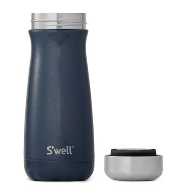 S\'well Traveler Stainless Steel Wide Mouth Bottle Midnight Blue