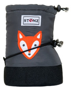 Stonz Fox Grey Infant Booties
