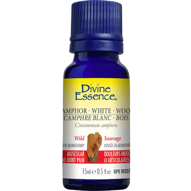Divine Essence Wild White Camphor Wood Essential Oil