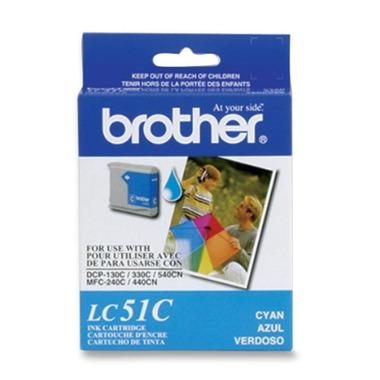Brother LC51CS Cyan Ink Cartridge