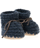Beba Bean Navy Sweater Moccs