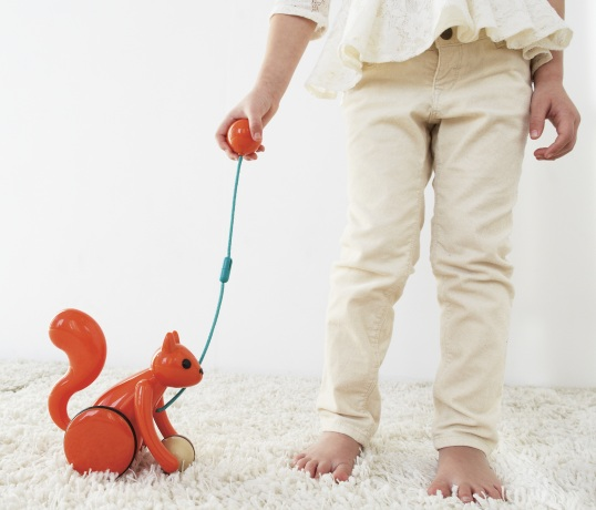 Buy Kid O Squirrel Pull Toy At Well Ca Free Shipping 35
